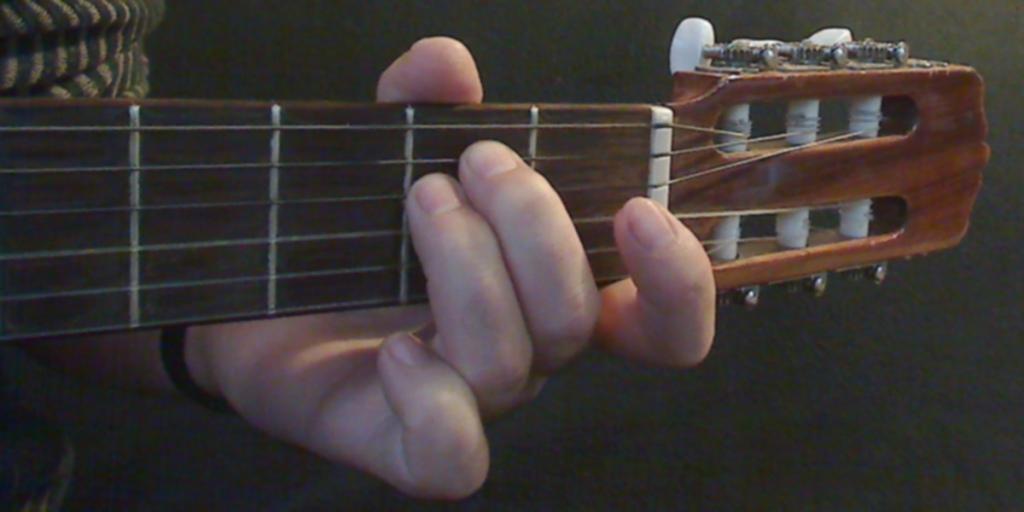 guitar open chord image